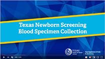 Blood Specimen Collection Video