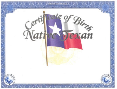 texas vital statistics – heirloom birth certificates