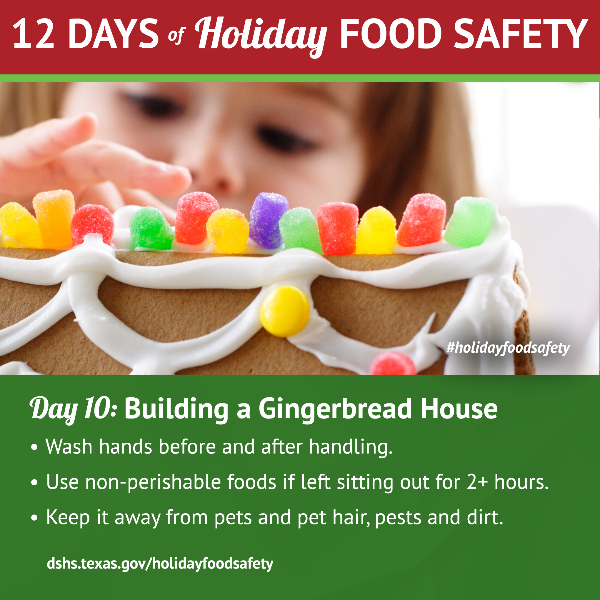 12 days of holiday food safety 12 days of holiday food safety day 10 building a gingerbread house 1betcityfo Choice Image