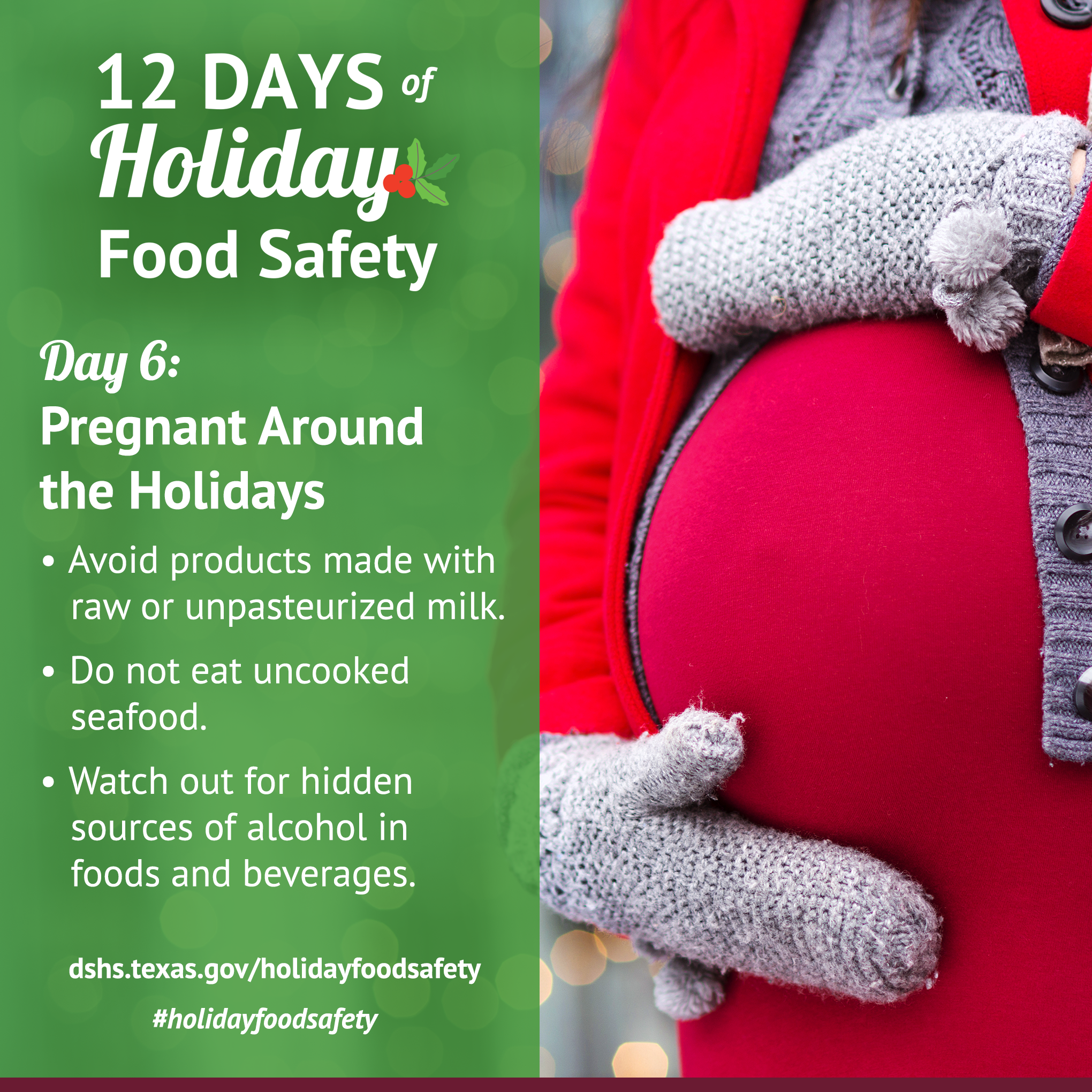 12 days of holiday food safety 12 days of holiday food safety day 6 pregnant around the holidays 1betcityfo Choice Image
