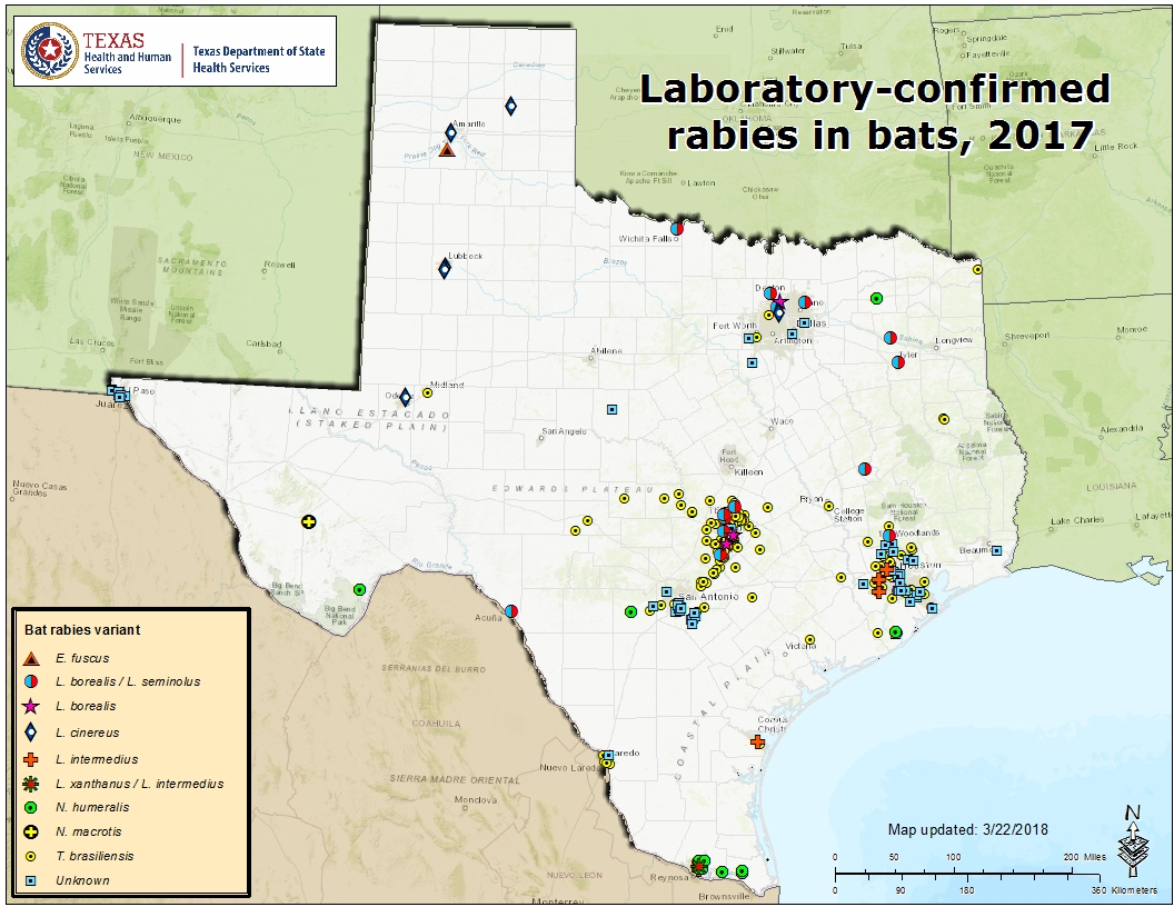 Technology Management Image: Rabies Maps For 2017