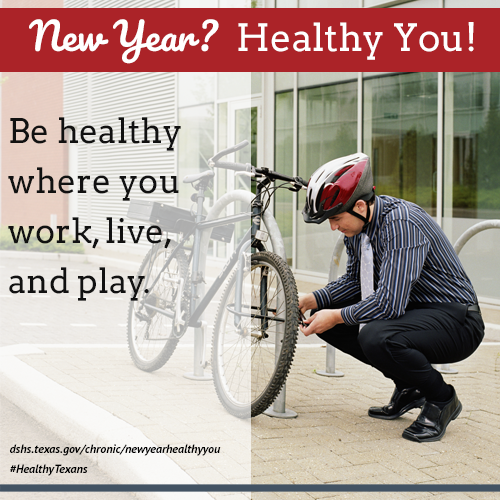 Be healthy where you work, live, and play.
