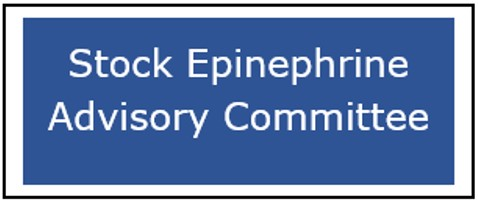 Button for the Stock Epinephrine Advisory Committee webpage