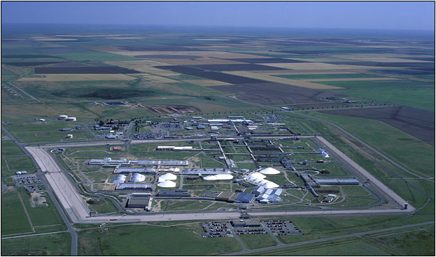 Aerial photograph of Pantex Facility
